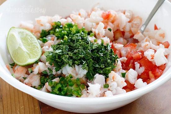 Skinny Shrimp Salsa Skinnytaste