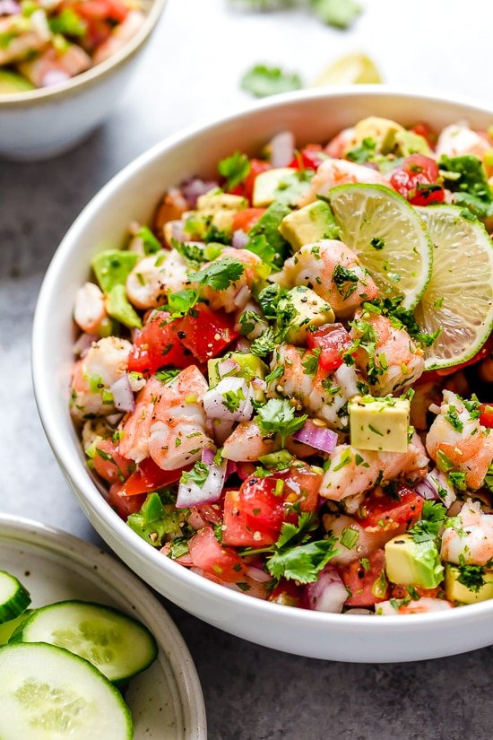 Zesty Lime Shrimp And Avocado Salad My Go To Recipe