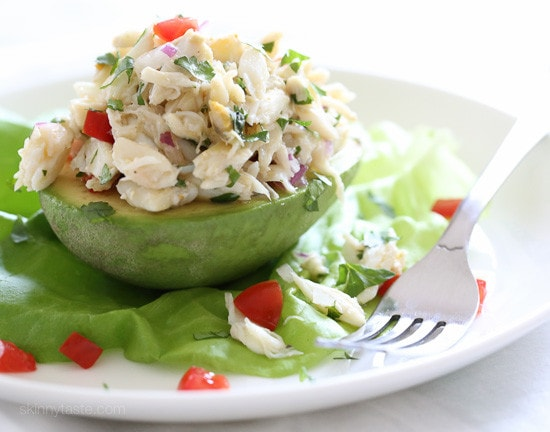 Avocado and Lump Crab Salad Recipe | Skinnytaste