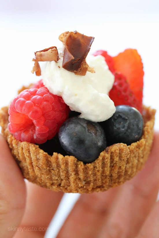 Mixed Berry Tartlet with Dark Chocolate and Vanilla ...