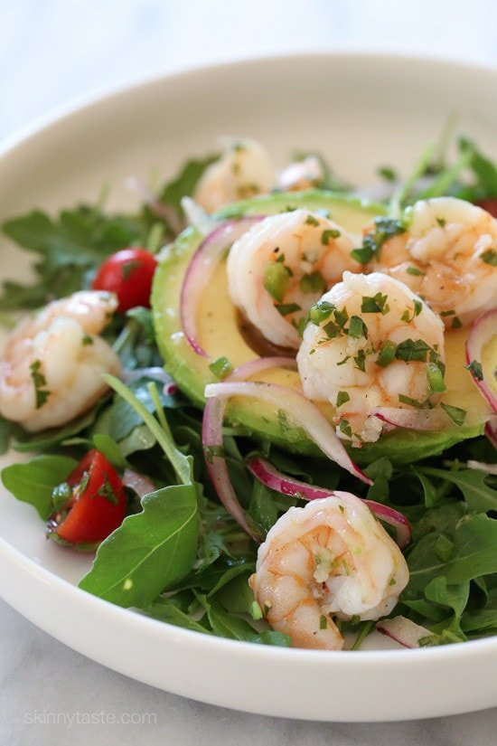 Shrimp Ceviche and Avocado Salad – an easy, delicious, low-carb dish.