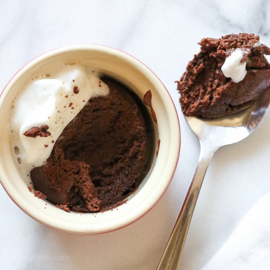 This EASY 5-ingredient Flourless Chocolate Cake is only 136 calories. So rich and delicious, perfect when you want a low-calorie, gluten-free chocolate dessert that won't set you back, and it's ready in less than 30 minutes!