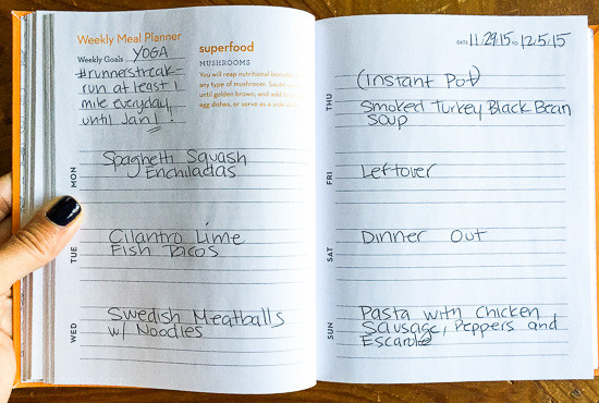 Skinnytaste Dinner Plan (Week 9)