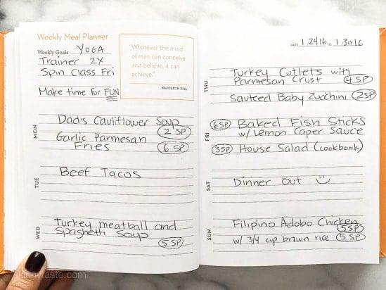 Skinnytaste Dinner Plan (Week 14)