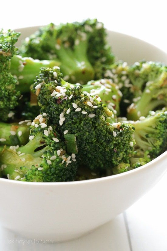 Sesame Orange Broccoli