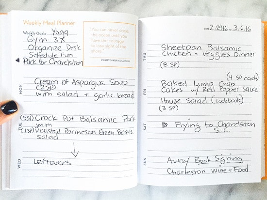 Skinnytaste Dinner Plan (Week 18)