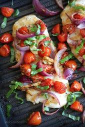grilledchickenroastedvegetables