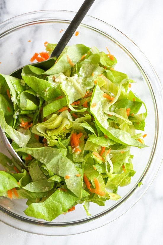 Asian Lettuce Wrap Chicken Chopped Salad-2