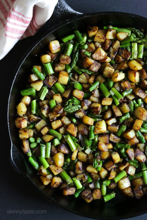 This Spring breakfast hash recipe is made with a combination of ...