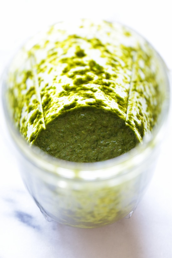 Chermoula is like a pesto, used in North African cooking as a marinade to flavor fish or seafood, but it can be used on other meats, vegetables or stirred into couscous.