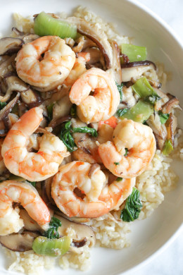 If you're looking for a quick weeknight meal that's both light in calories and easy to make, this is your dish!