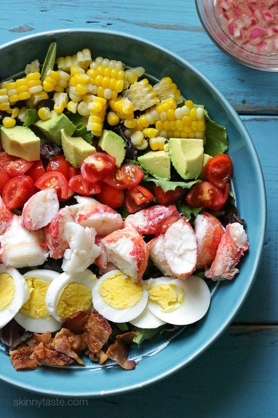 Lobster Cobb Salad Skinnytaste