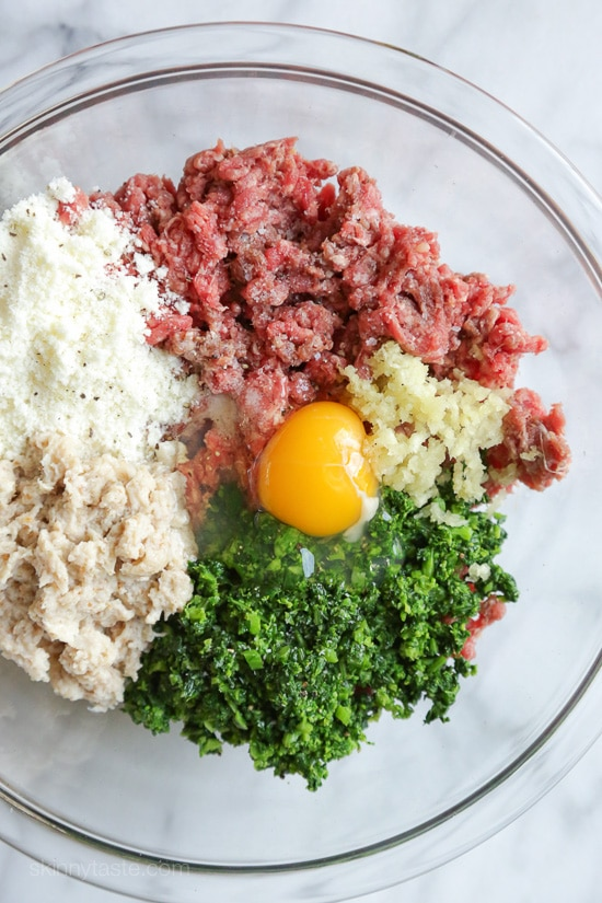 Slow Cooker Broccoli Rabe Meatballs-10