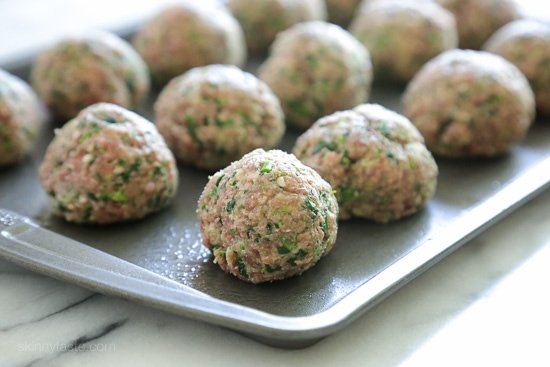 Slow Cooker Broccoli Rabe Meatballs-8