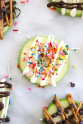 They are really easy to make, and perfect to make with the kids. My favorite was the Chocolate and Peanut Butter, which is the perfect snack to satisfy a sweet tooth.