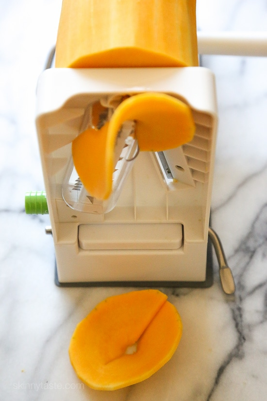 Easy way to slice a butternut