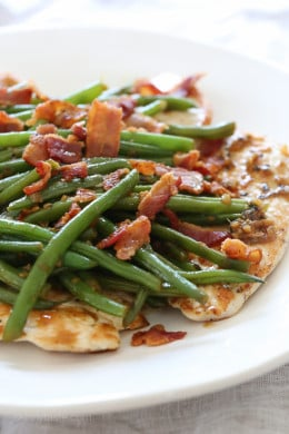 Healthy Chicken With Bacon And Green Beans