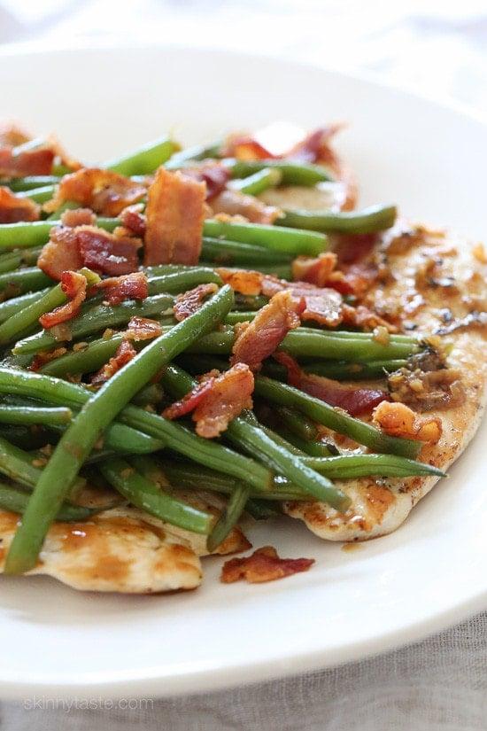 recipe: parmesan green beans skinnytaste [7]