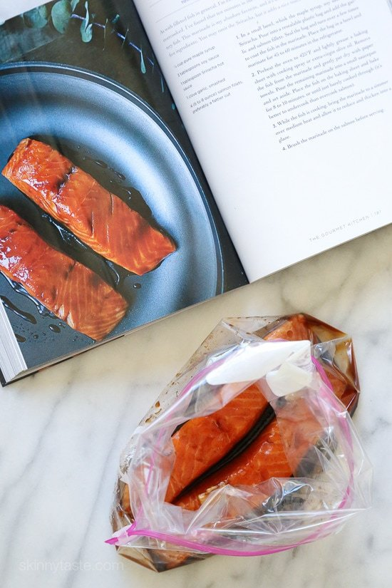 Maple Soy Glazed Salmon Skinnytaste