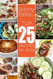 Top 25 Most Popular Skinnytaste Recipes 2016