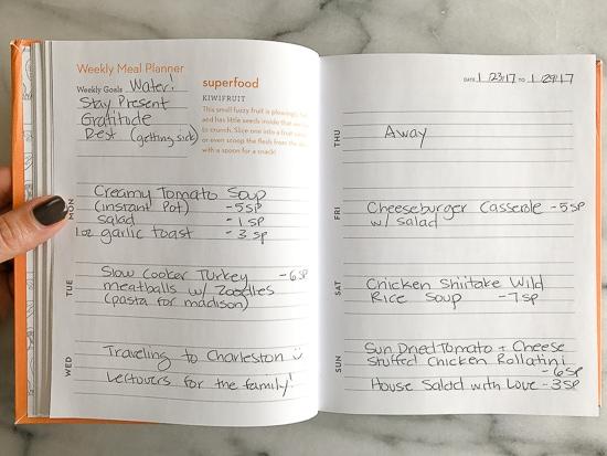 Skinnytaste Dinner Plan (Week 60)
