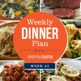 Skinnytaste Dinner Plan (Week 62)
