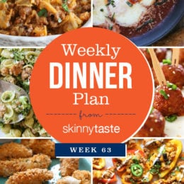 Skinnytaste Dinner Plan (Week 63)