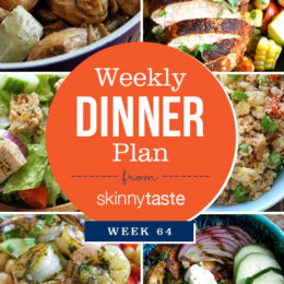 Skinnytaste Dinner Plan (Week 64)