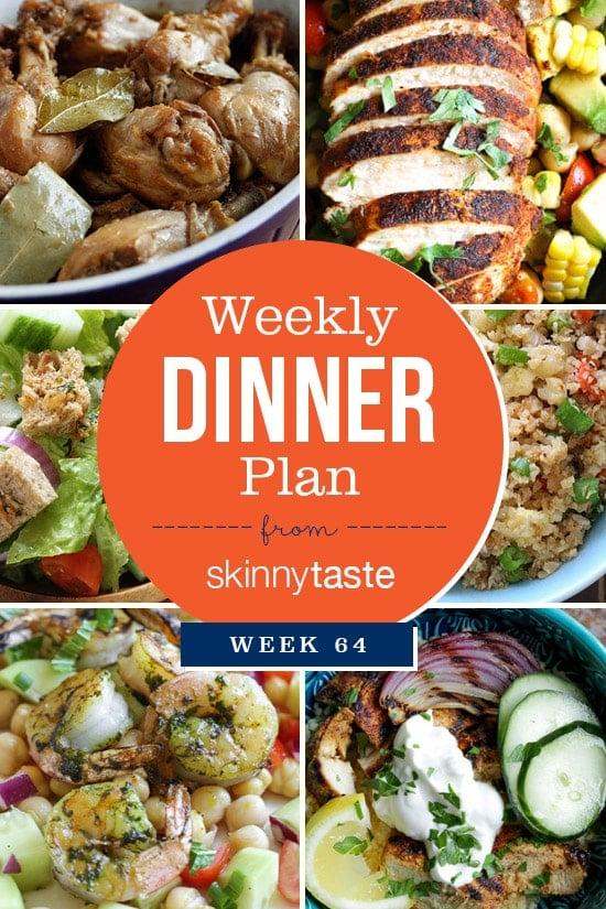 Skinnytaste Dinner Plan (Week 64)