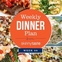 Skinnytaste Dinner Plan (Week 68)