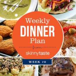 Skinnytaste Dinner Plan (Week 70)