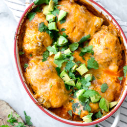 These low-carb Enchilada Chicken Roll-Ups give you authentic enchilada flavor without all the work, calories or fat. And you won't even miss the tortillas!