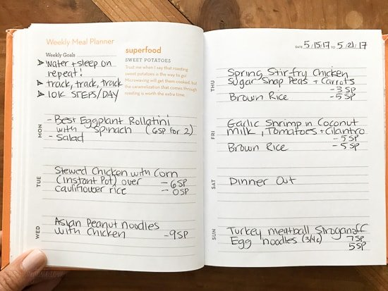 Skinnytaste Dinner Plan (Week 75)