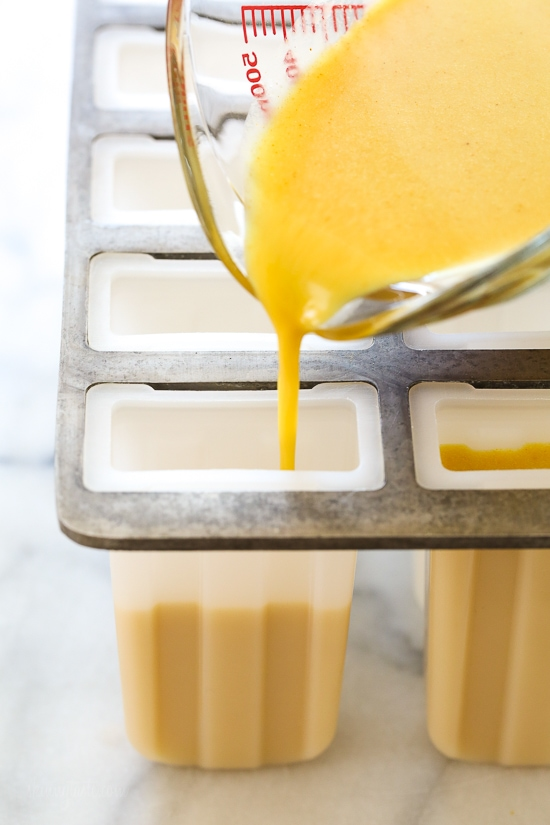 Turmeric Golden Milk Popsicles