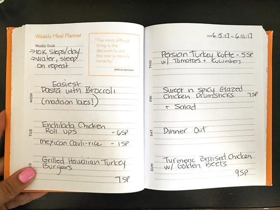 Skinnytaste Dinner Plan (Week 77)