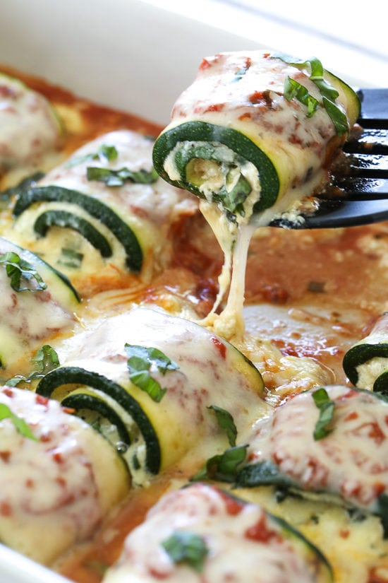 Zucchini Rollatini Recipe Skinnytaste