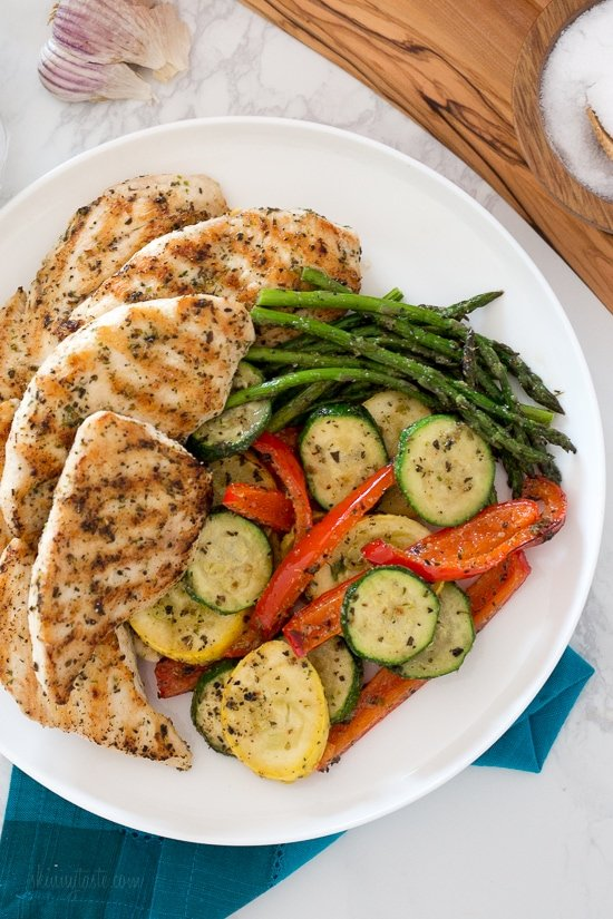 Grilled Garlic And Herb Chicken And Veggies Skinnytaste Watermelon Wallpaper Rainbow Find Free HD for Desktop [freshlhys.tk]