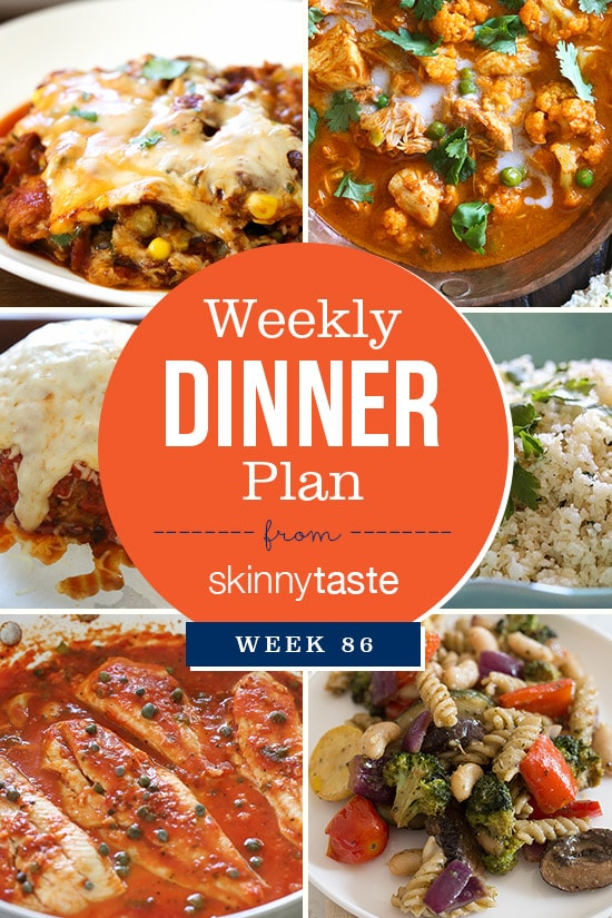 Meal Plans  Skinnytaste