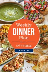 Skinnytaste Dinner Plan (Week 89)