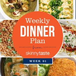 Skinnytaste Dinner Plan (Week 91)