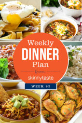 Skinnytaste Dinner Plan (Week 92)