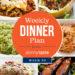 Skinnytaste Dinner Plan (Week 93)