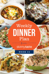 Skinnytaste Dinner Plan (Week 94)