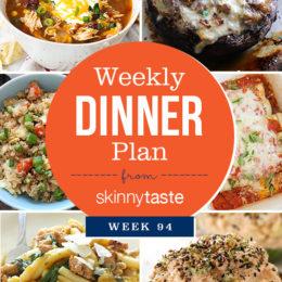 Skinnytaste Dinner Plan (Week 94)