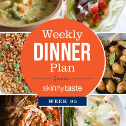 Skinnytaste Dinner Plan (Week 95)