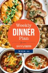 Skinnytaste Dinner Plan (Week 96)