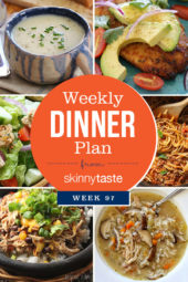 Skinnytaste Dinner Plan (Week 97)