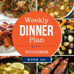 Skinnytaste Dinner Plan (Week 101)