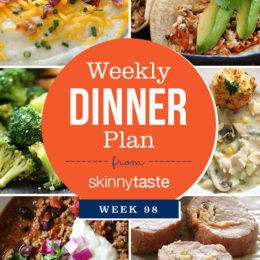 Skinnytaste Dinner Plan (Week 98)