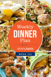 Skinnytaste Dinner Plan (Week 103)